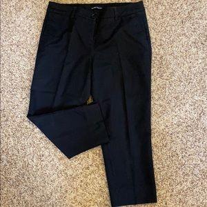 Black Capri slacks